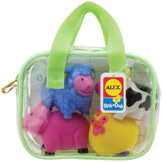 Alex Bath Rub A Dub Squirters For The Tub - Farm