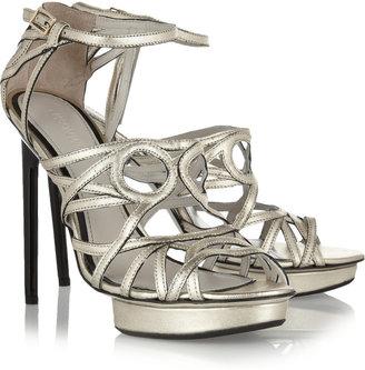 Jason Wu Charley metallic leather sandals