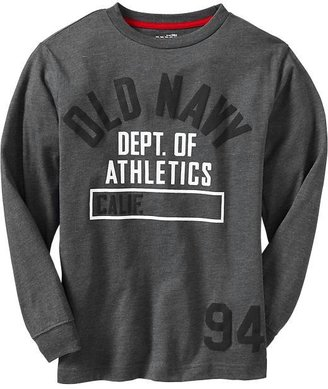 Old Navy Boys Team-Style Logo Tees