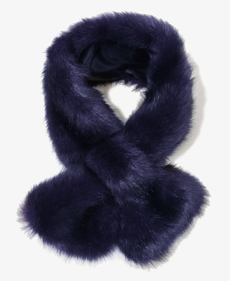 Forever 21 Faux Fur Scarf