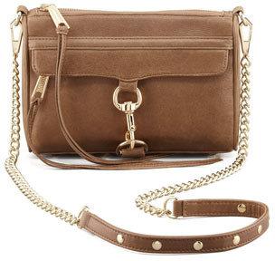 Rebecca Minkoff Mini M.A.C. Crossbody Bag, Taupe