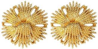 Susan Caplan Vintage 1960s Vintage Monet Cordelia Clip-on Earrings