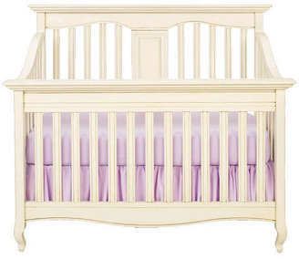 Babi Italia Mayfair Flat Convertible Crib - Oyster Shell