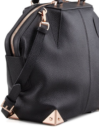 Alexander Wang Emile Tote Bag, Black/Rose Golden