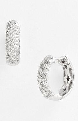 Nordstrom Bony Levy 5-Row Pave Diamond Hoop Earrings Exclusive)