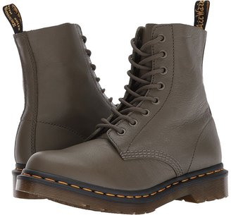 Dr. Martens - Pascal 8-Eye Boot Women's Lace-up Boots $135 thestylecure.com