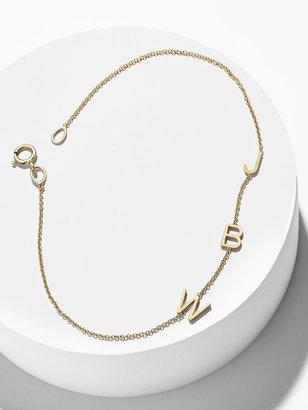 BaubleBar Maya Brenner Mini Letter Bracelet