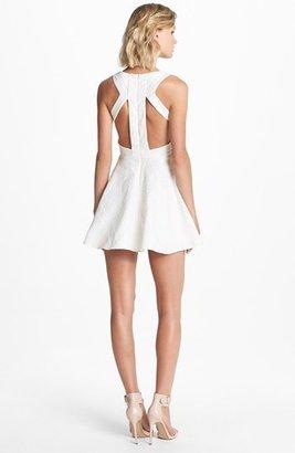 Keepsake the Label 'Lady Doll' Jacquard Fit & Flare Dress