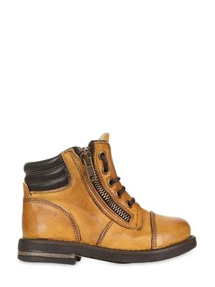 Momino Leather Ankle Boots