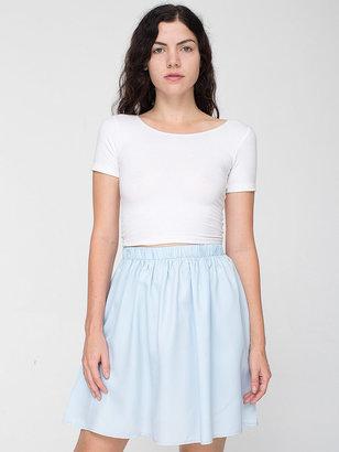 American Apparel Vintage Baby Blue Mini Skirt