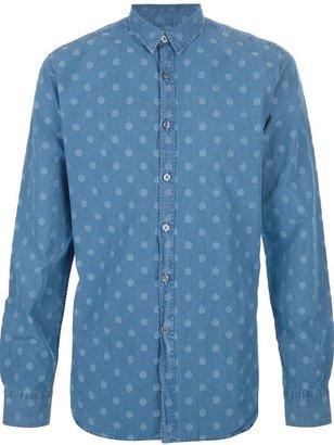 Paul Smith spotty denim shirt