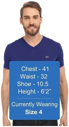Lacoste S/S Pima Jersey V-Neck T-Shirt Men's Short Sleeve Pullover