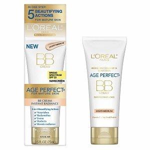 L'Oreal Age Perfect Mature Skin Instant Radiance BB Cream, Light-Medium