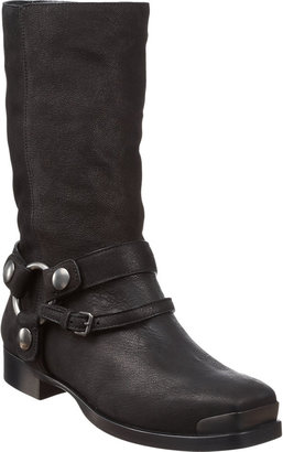 Miu Miu Square Toe Biker Boot