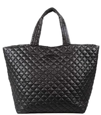 Mz Wallace 'Large Metro' Quilted Oxford Nylon Tote - Black $225 thestylecure.com