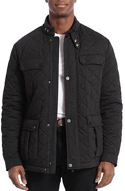 Bagatelle Quilted Water-Resistant Regular Fit Barn Jacket