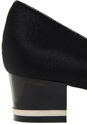 Carvela Arabella Leather Low Heeled Shoes