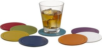 Crate & Barrel Blue Coasters.