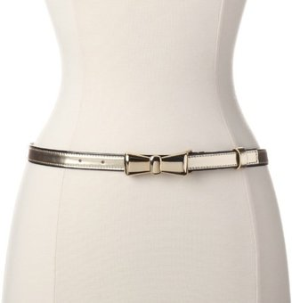 Vince Camuto Women's 3/4 Inch Belt with Bow Buckle