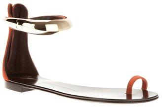 Giuseppe Zanotti Design ankle cuff sandal