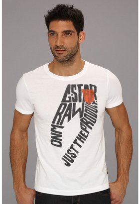 G Star G-Star - Mayfield S/S Tee (White) - Apparel