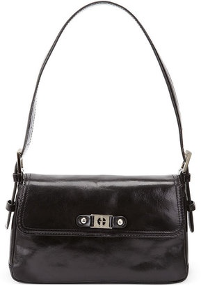 Bernini Giani Handbag, Glazed Leather Demi Shoulder Bag