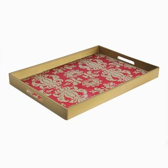 Accents by jay notions fleur-de-lis serving tray