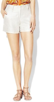 Vince Camuto Cuffed Foiled Short