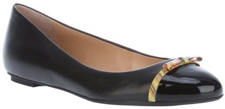 Paul Smith Paul By Leather ballet pump
