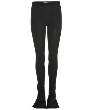 Miu Miu Tailored trousers with flared ankle