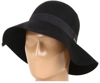 Roxy Autumn Felt Hat (True Black) - Hats