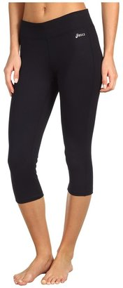 Asics PR Capri (Black) - Apparel
