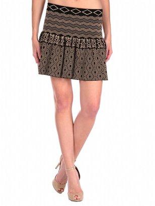 Torn By Ronny Kobo Camelia Skirt Tribal Knit