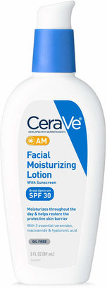 CeraVe Facial Moisturizing Lotion AM with SPF 30 $16.49 thestylecure.com