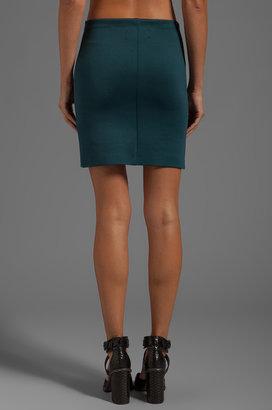 Clover Canyon Embroidery Neoprene Skirt