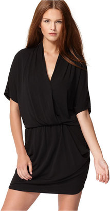 Rachel Roy Dress, 24 Hour Short-Sleeve V-Neck