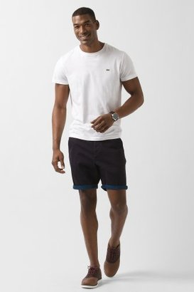 Lacoste L!VE Roll Up Cotton Gabardine Bermuda Short