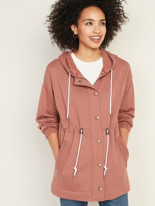 Old Navy Soft-Brushed Hooded Utility Jacket for Women