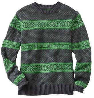 Gap Fair Isle striped sweater
