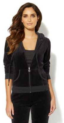 New York & Co. Love, NY&C Collection - Velour Hooded Jacket