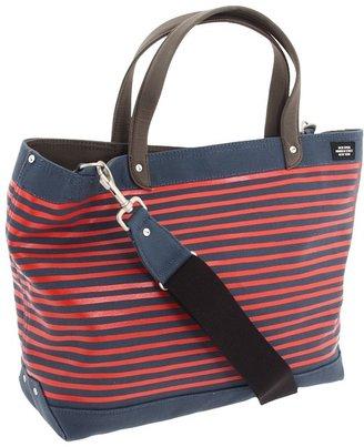 Jack Spade Stripe Printed Coal Bag (Navy/Red) - Bags and Luggage