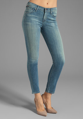 Citizens of Humanity Cropped Thompson Medium Rise Skinny in True