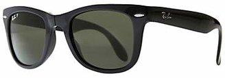 Ray-Ban RB4105 Wayfarer Folding Polarised Sunglasses