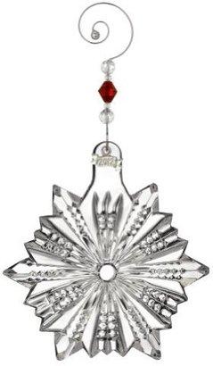 Waterford 2012 Annual Pierced Snow Crystal Ornament