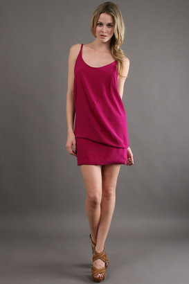 Karen Zambos Mimi Dress Dress in Fuschia