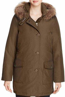 WOOLRICH JOHN RICH & BROS Arctic Fur Trim Parka $695 thestylecure.com