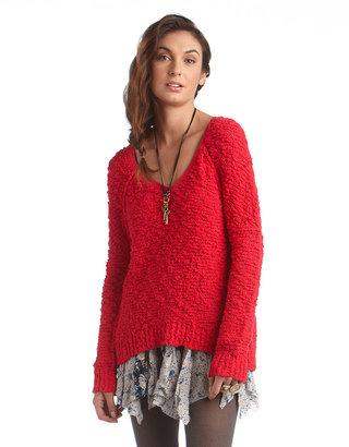 Free People Long-Sleeved Songbird Sweater