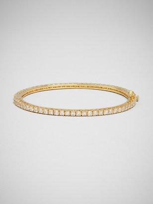 BaubleBar Slim Gold Crystal Bangle