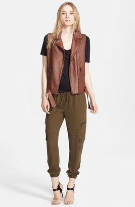 Haute Hippie Leather Vest