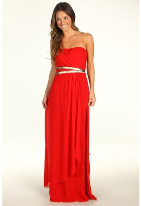 Nicole Miller Evening Strapless Gown (Red) - Apparel